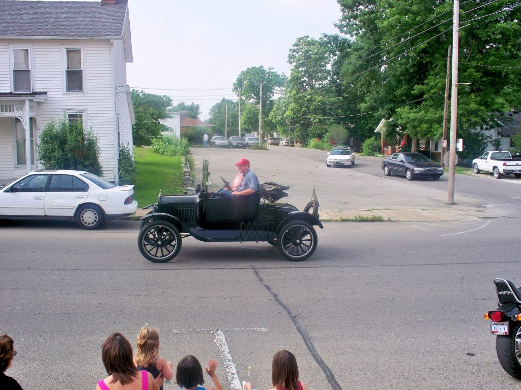 Photo of a Ford Model T