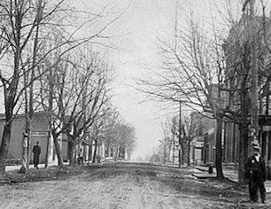 Historical Photo of Main Street
