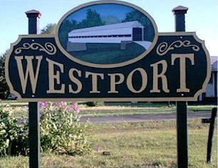 Westport Highway Sign